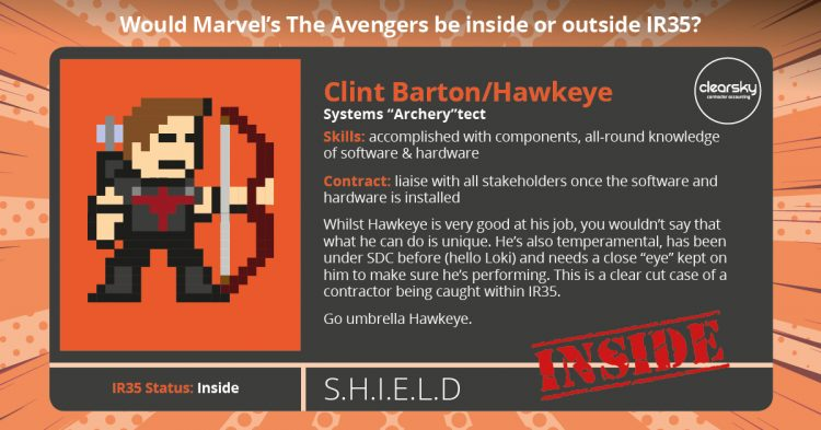 Hawkeye IR35 status