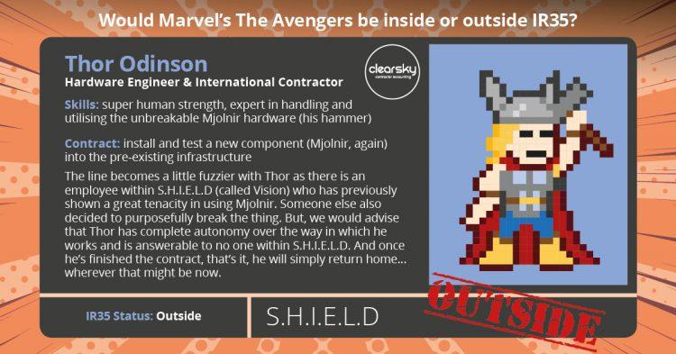 IR35 status of Thor